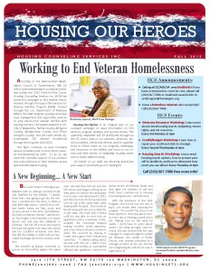 Housing Our Veterans - Fall 2015 JPG Front